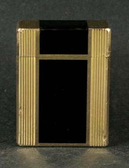 "Dupont c 1970 ""Laque de Chine"" Pocket Lighter"